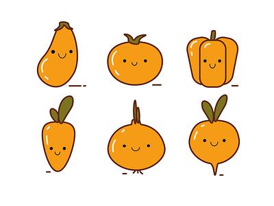 Veggies icon design icons icon ui buisness design illustration vector halloween logo vectorart flatdesign