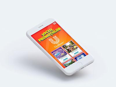 Unilever - Promotional Website romania fmcg unilever