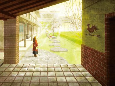 Traveling in Ihatove illustration art illustration digital art