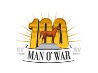 Man o' War 100 Alternate logo