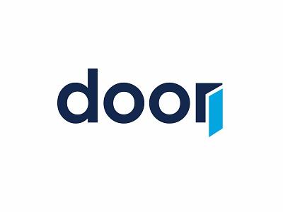 Door - Type Exploration mark logo wordmark design typography door