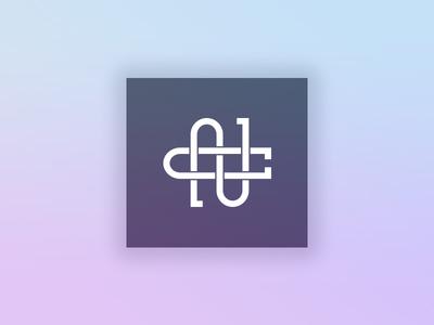 Personal Logo monogram logo nc