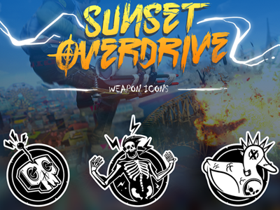 Sunset Overdrive Iconography