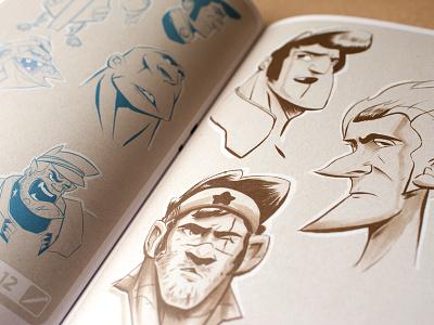 Drawings! artbook illustration marker sketches