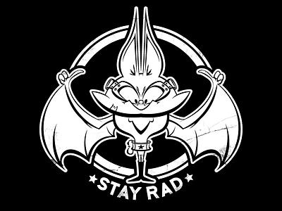 Stay Rad Shirt shirt design illustration illustrator shirt