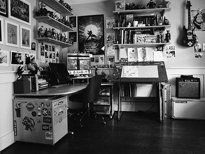 Work space shot! digital artist diy workspaceshot