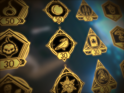 The Unspoken achievement icons illustration videogames vr magic vectorart illustrator