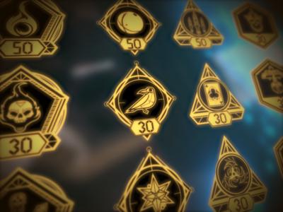The Unspoken achievement icons illustration videogames vr magic vectorart illustrator