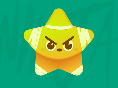 Ninja Star! illustration sticker affinitydesigner vector design