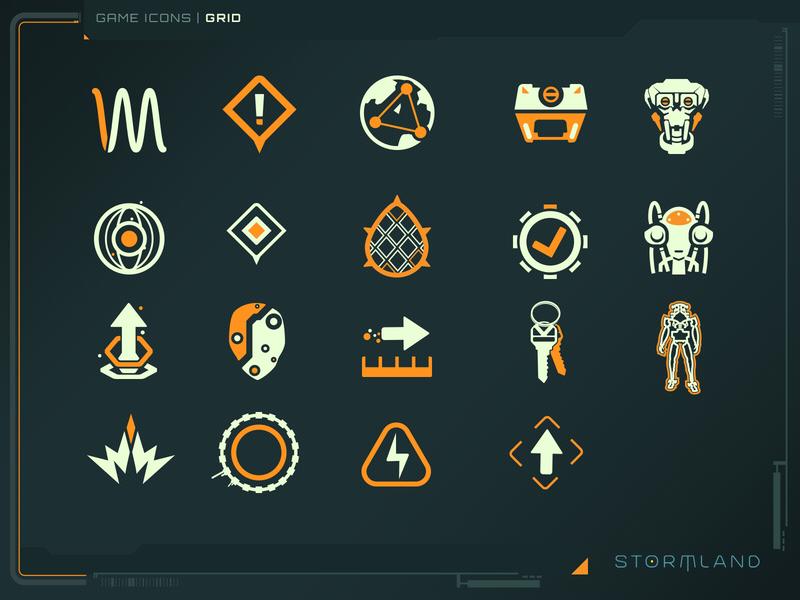 icon 04 games design icons game ui gui vector ui illustrator
