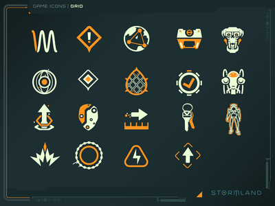 icon 04 games design icons game ui gui vector ui illustrator