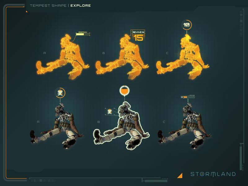 Revive Mechanic design game ui icons photoshop ui illustration illustrator