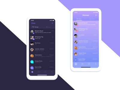 message color 2 - Purple