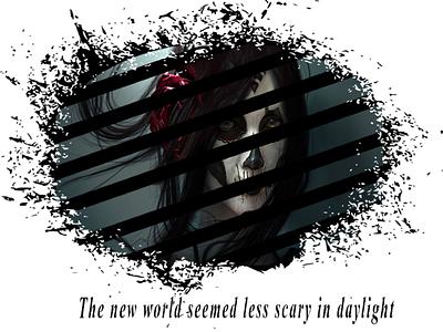 Panic in the dark تاریکی وحشت daylight scary dark panic