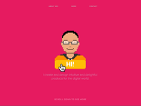 Pixel Illustrations for Personal Site