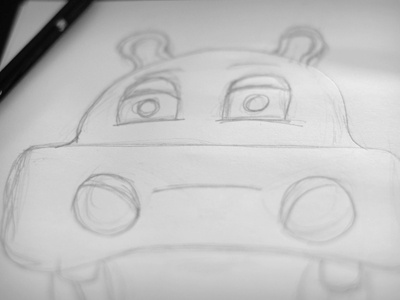 Early Hippo Sketch