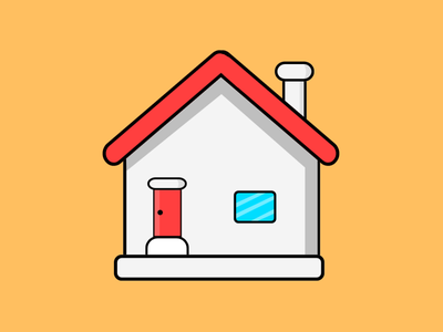 Little House vector house little illustration design