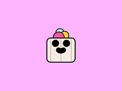 Ice Cream Spike Pin Concept concept art concept brawl stars supercell brawlstars game food art vector illustration design