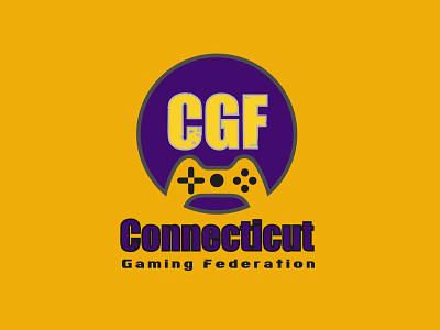 CGF Gaming Logo logo design creativelogodesign minimal illustrator creative  design modern logo creative logo gaminglogo branding minimalist logo