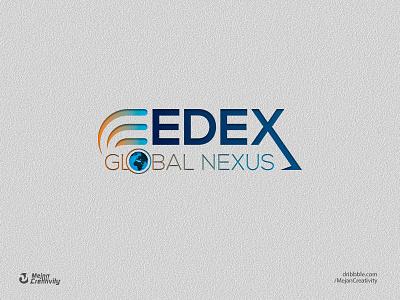 EDEX Logo logo design branding vector logo design illustration