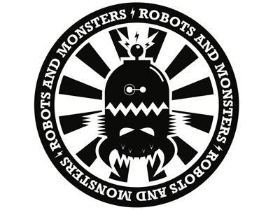 Robots and Monsters Illustration graphic illustration monsters robots