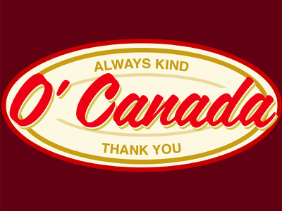 O Canada stickermule
