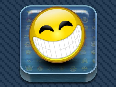 Smiley Central App Icon app android ios ui icon