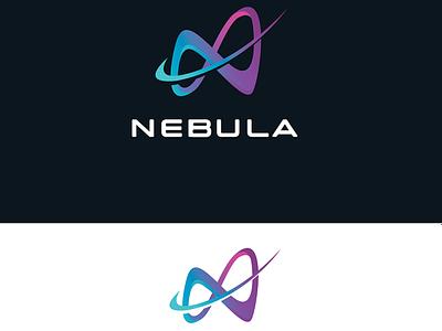 NEBULA LOGO illustration design applogo icon logodesign logo and brand identity illustrator graphic designer branding