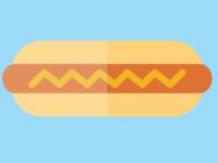 hot dog, icon