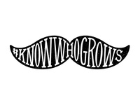 #KnowWhoGrows Movember logo