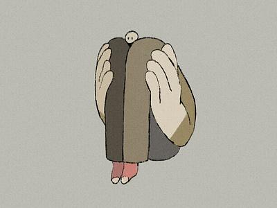 socks trouble animation 2d minimaldesign illustration animation design