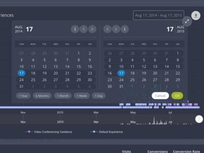 Updated Custom Captora Datepicker ux ui picker date datepicker