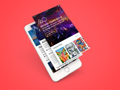 Airbnb Experiences Brand Awareness Strategy Mobile Prototype strategy design mobile ux ui