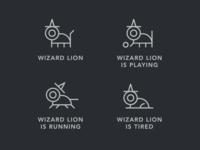 Wizard Lion