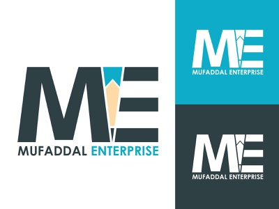 Mufaddal Enterprise hmo hmmurtazaofficial typography vector type logo illustrator illustration graphic design flat design branding