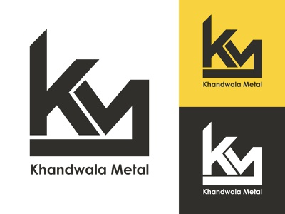 Khandwala Metal hmo hmmurtazaofficial typography vector type logo illustrator illustration graphic design flat design branding