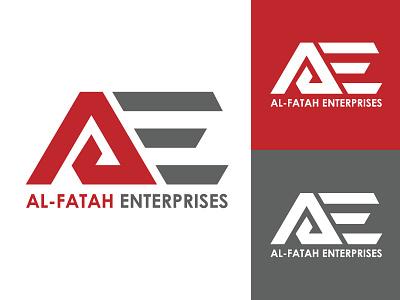 Al-Fatah Enterprises hmo hmmurtazaofficial typography vector type logo illustrator illustration graphic design flat design branding