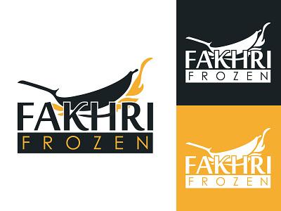 Fakhri Frozen hmmurtazaofficial hmo typography vector type logo illustrator illustration graphic design flat design branding