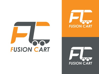 Fusion Cart hmmurtazaofficial marketing designer graphics ux buy online sell online website sales ecomerce online vector illustrator illustration flat design branding logo graphic design ui
