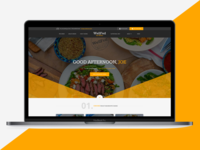 Click & Collect Food Website