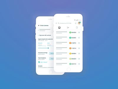 Liqui.do Partner Portal design mobile ui product design mobile