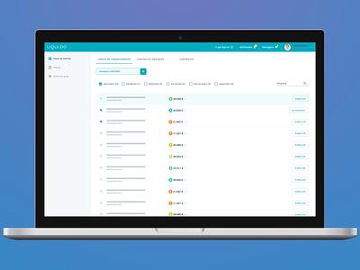 Desktop Partner Portal ui  ux product design design