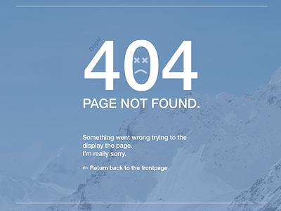 404 - page not found 404 error