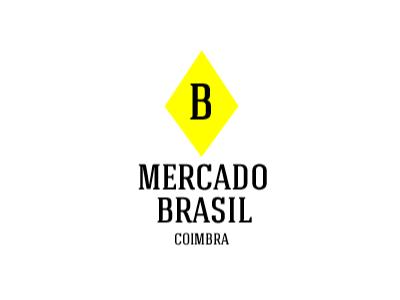Mercado Brasil design mark logo