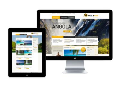Rucatur agency design website
