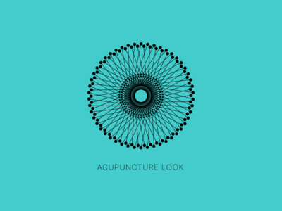 Acupuncture Look loop line design