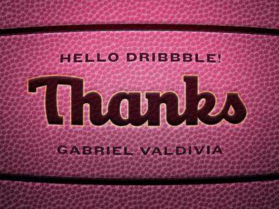 Hi Dribbble! Thanks Gabe!