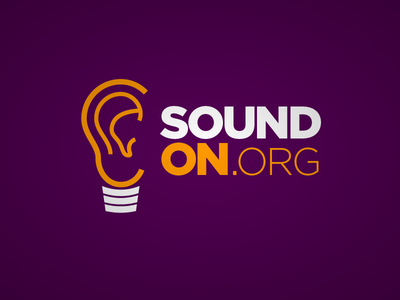 Sound On ear lightbulb sound on nonprofit non profit bolesta audio light