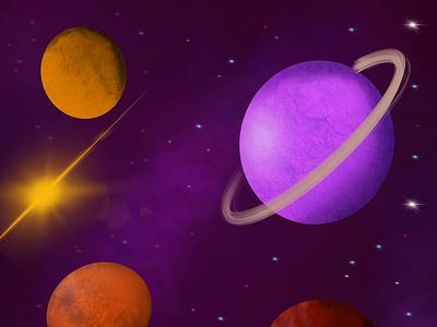 Space Illustration illustration