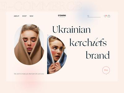 E-commerce brand design ecommerce design accessories ecommerce shop ui design figma